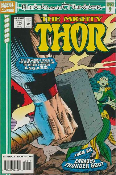Thor (1966) 470-A by Marvel