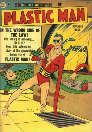 Plastic Man (1943) 26-A by Comic Magazines