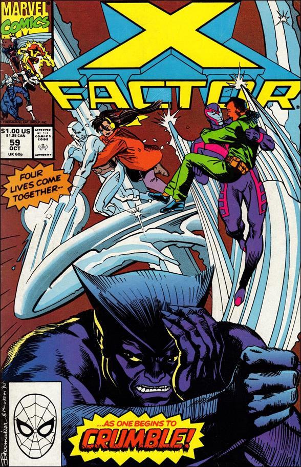 X-Factor (1986) 59-A by Marvel