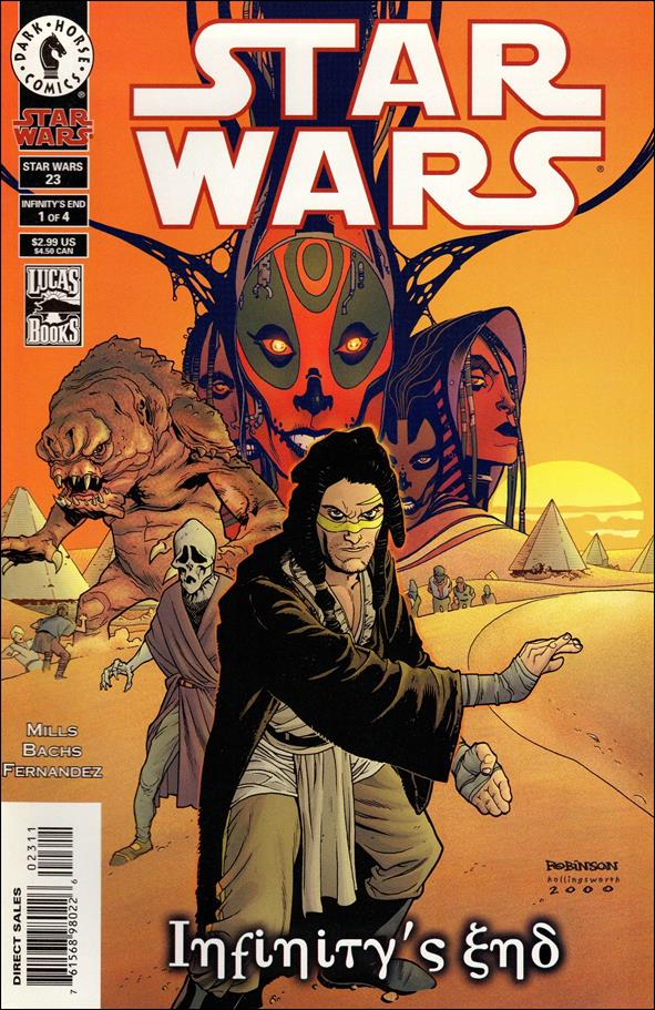 Star Wars/Star Wars Republic 23-A by Dark Horse