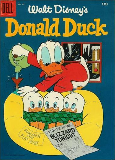 Walt Disney's Donald Duck (1952) 44-A by Gold Key
