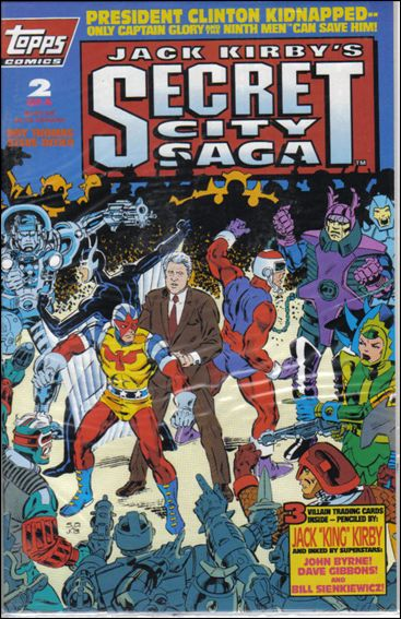Jack Kirby's Secret City Saga 2-A by Topps