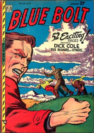 Blue Bolt (1947) 8-A by Premium