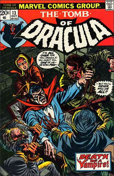 Tomb of Dracula (1972) 13-A by Marvel