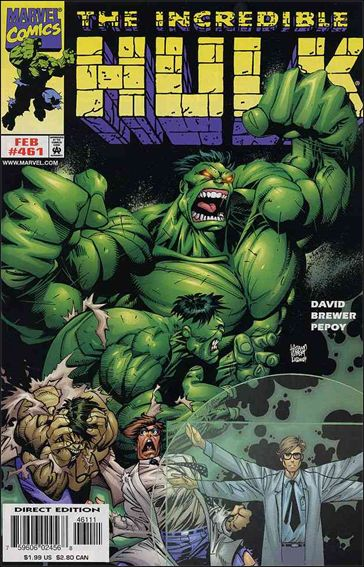 Incredible Hulk (1968) 461-A by Marvel