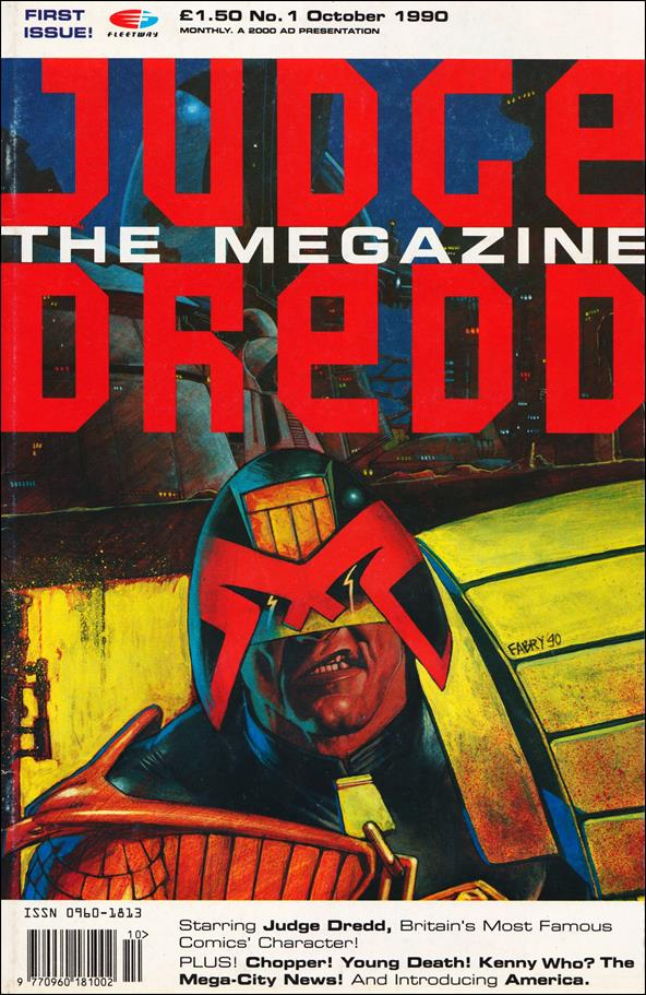 Judge Dredd Megazine (1990) 1-A by Fleetway