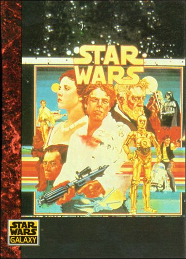 Star Wars Galaxy: Series 1 (Base Set) 52-A by Topps