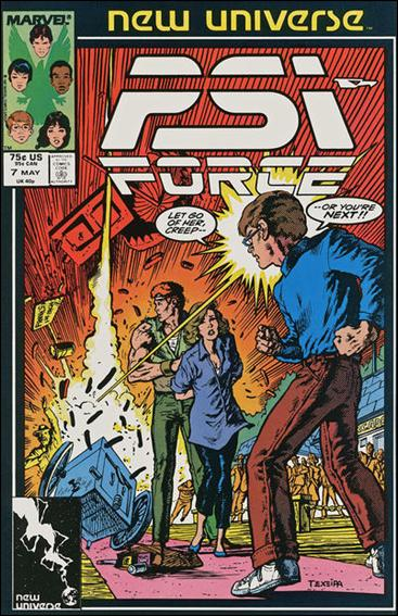 Psi-Force 7-A by Marvel