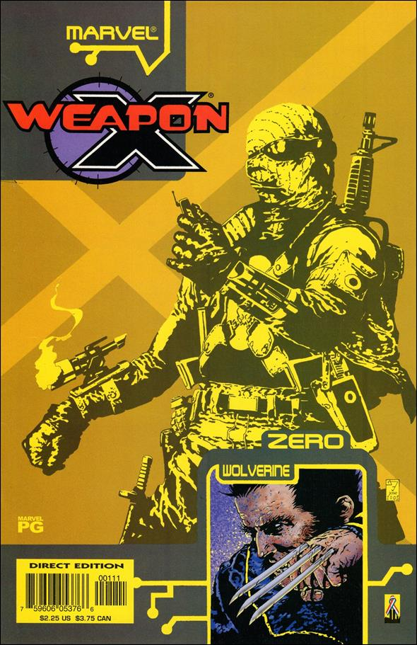 Weapon X: The Draft - Agent Zero 1-A by Marvel