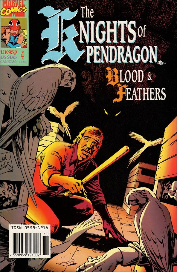 Knights of Pendragon (UK) (1990) 4-A by Marvel UK