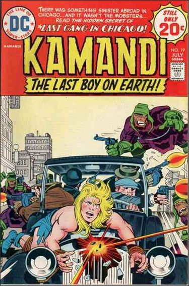 Kamandi, the Last Boy on Earth 19-A by DC