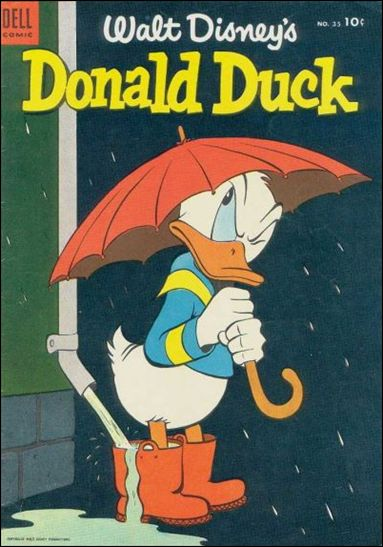 Walt Disney's Donald Duck (1952) 35-A by Gold Key