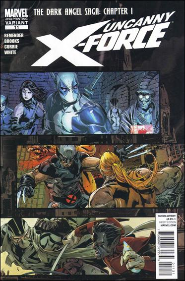 Uncanny X-Force (2010) 11-C by Marvel