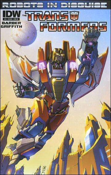 Transformers: Robots in Disguise 3-B by IDW