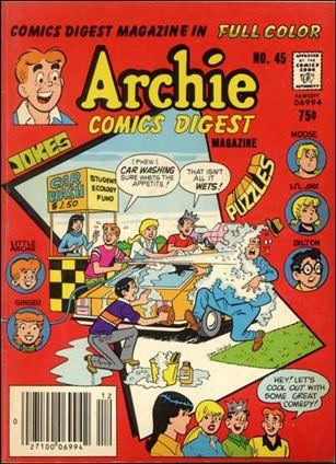 Archie Comics Digest Magazine 45-A