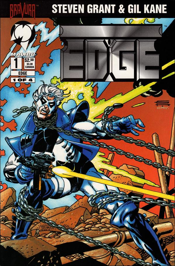 Edge (1994) 1-A by Malibu