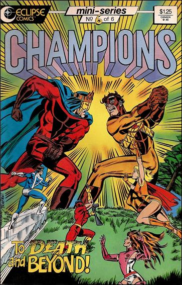 Champions (1986) 6-A by Heroic Publishing