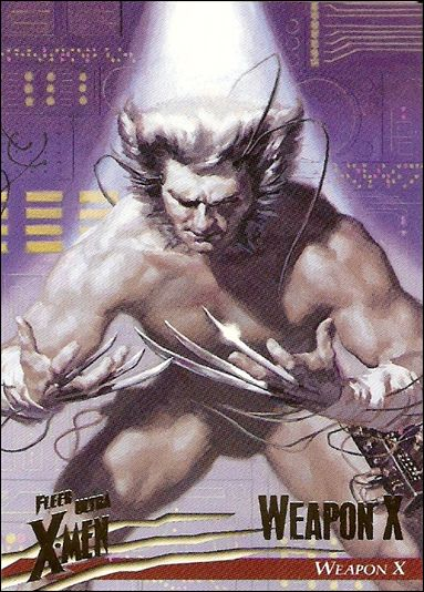 1996 Fleer Ultra X-Men: Wolverine (Base Set) 1-A by Fleer