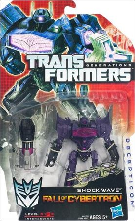 Transformers: Generations (Deluxe Class) Series 2 Shockwave (Fall of Cybertron)