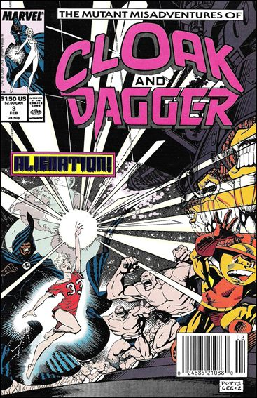 Mutant Misadventures of Cloak and Dagger 3-A by Marvel