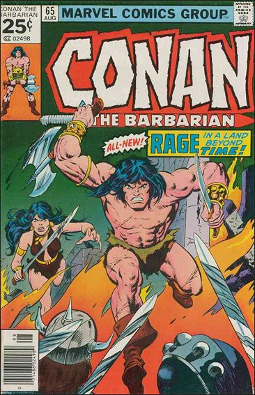 Conan the Barbarian (1970) 65-A by Marvel