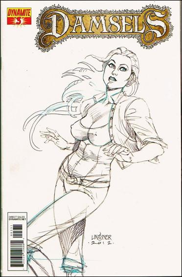 Damsels 3-C by Dynamite Entertainment