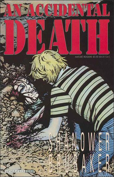 Accidental Death 1-A by Fantagraphics