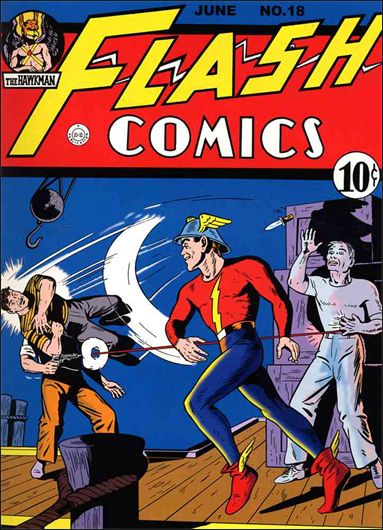 Flash Comics (1939) 18-A by DC