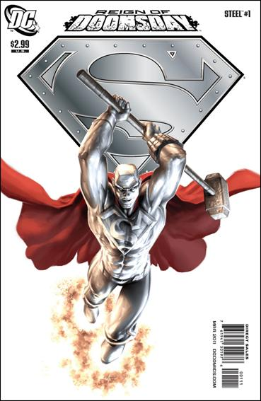 Steel (2011) 1-A by DC