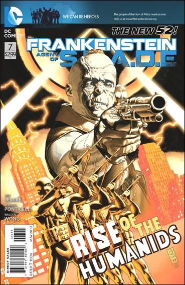 Frankenstein, Agent of S.H.A.D.E. 7-A by DC