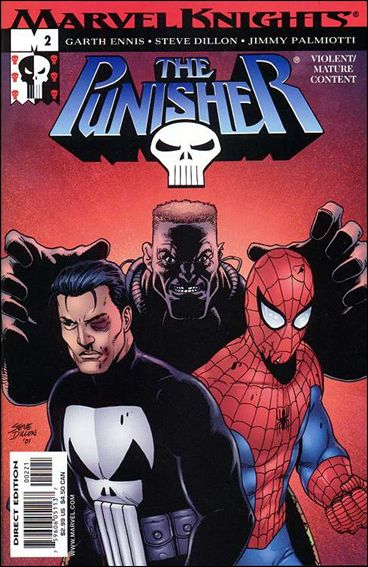 Punisher (2001) 2-B by Marvel