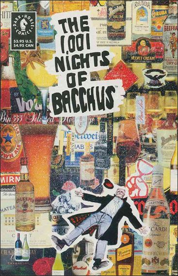 1,001 Nights of Bacchus 1-A by Dark Horse