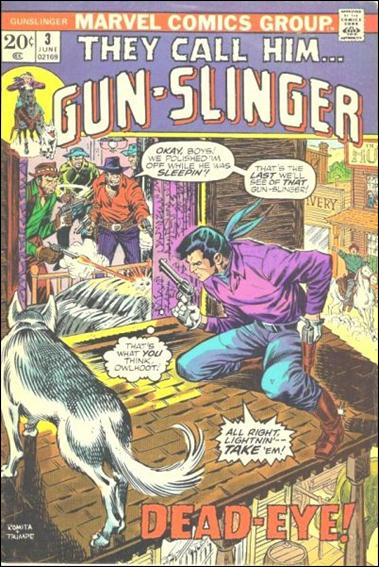 Gun-Slinger 3-A by Marvel