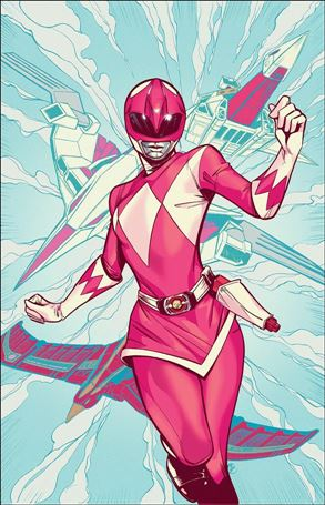 Mighty Morphin Power Rangers Pink 4-C