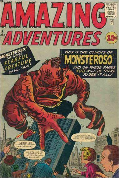 Amazing Adventures (1961) 5-A by Marvel