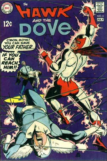 Hawk and the Dove (1968) 6-A by DC