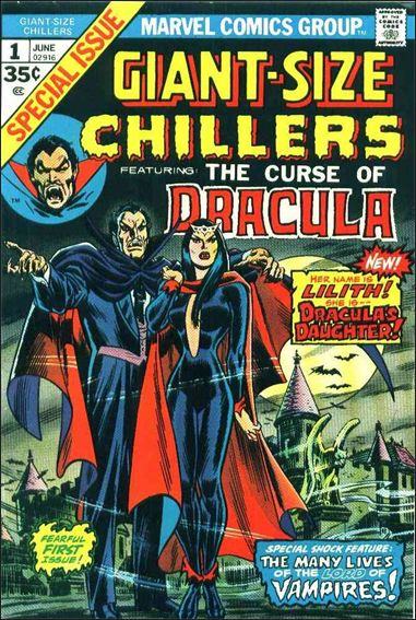 Giant-Size Chillers Featuring Dracula 1-A by Marvel