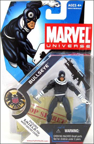 Marvel Universe (Series 1) Bullseye (Dark Blue Costume) by Hasbro