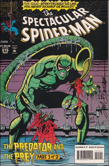 Spectacular Spider-Man (1976) 215-B by Marvel