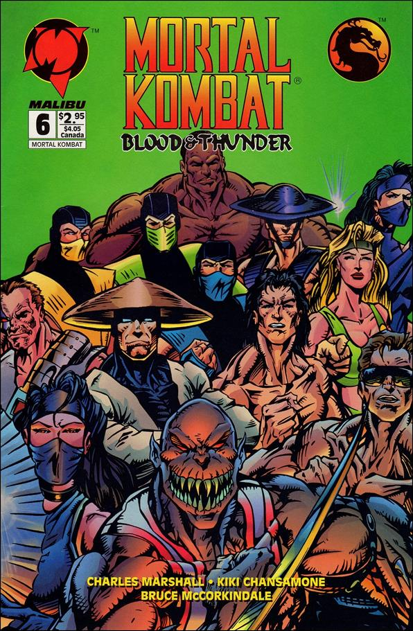 Mortal Kombat: Blood and Thunder 6-A by Malibu