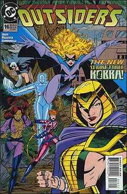 Outsiders (1993) 16-A by DC