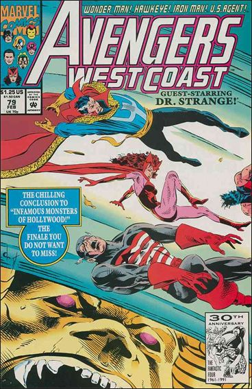 Avengers West Coast 79-A by Marvel
