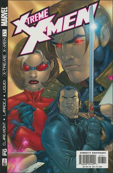 X-Treme X-Men (2001) 17-A by Marvel