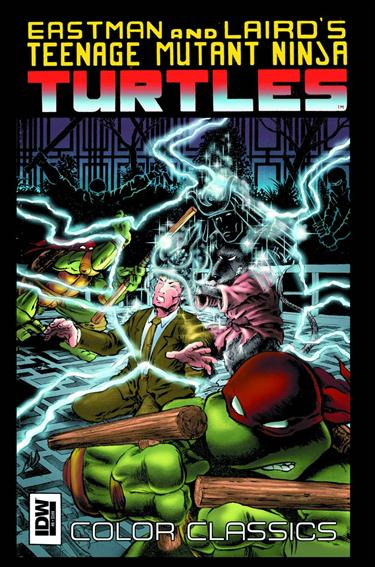 Teenage Mutant Ninja Turtles Color Classics  9-A by IDW