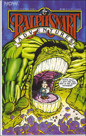 Ralph Snart Adventures (1986/06) 1-A by Now Comics