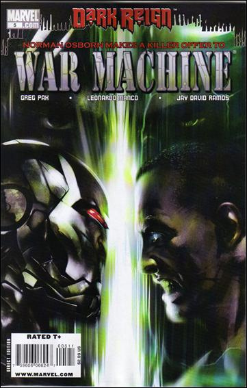 War Machine (2009) 5-A by Marvel