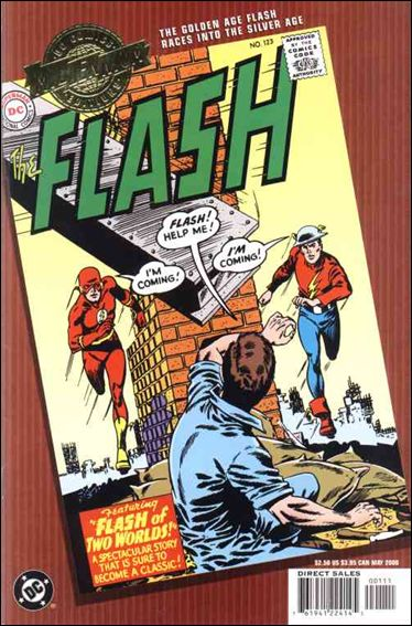 Millennium Edition: The Flash 123-A by DC