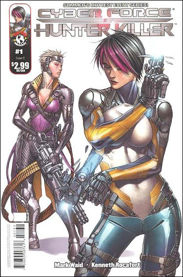 Cyberforce/Hunter-Killer 1-C by Top Cow