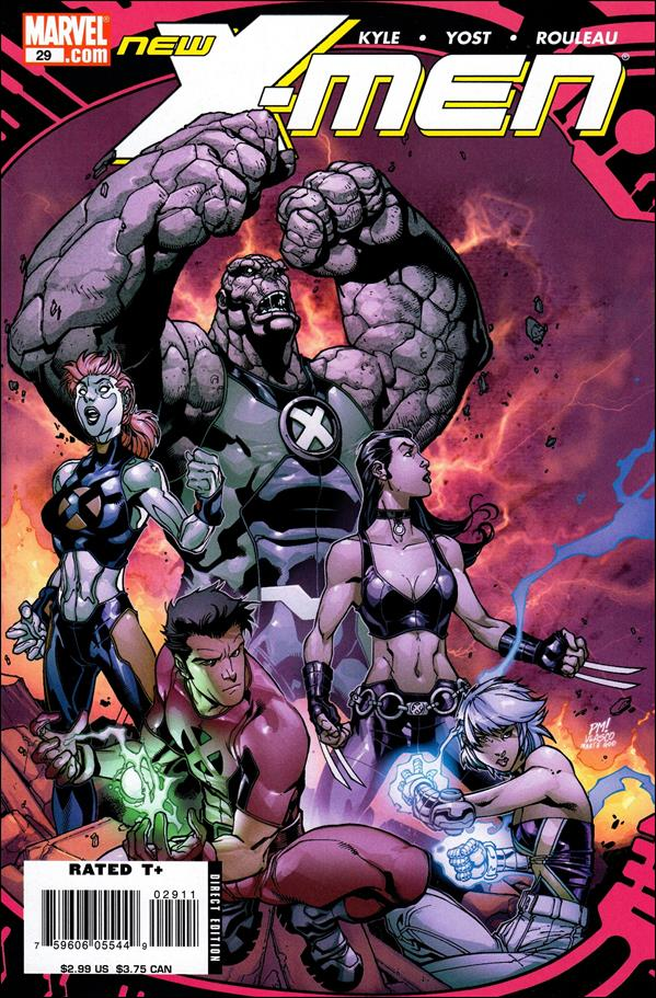 New X-Men (2006) 29-A by Marvel