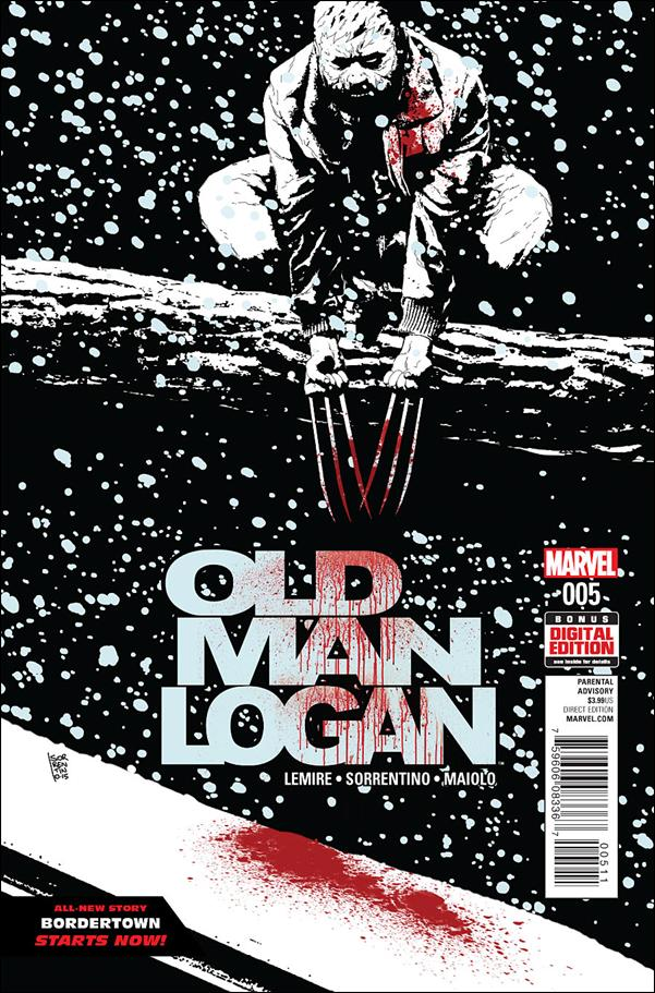 Old Man Logan (2016) 5-A